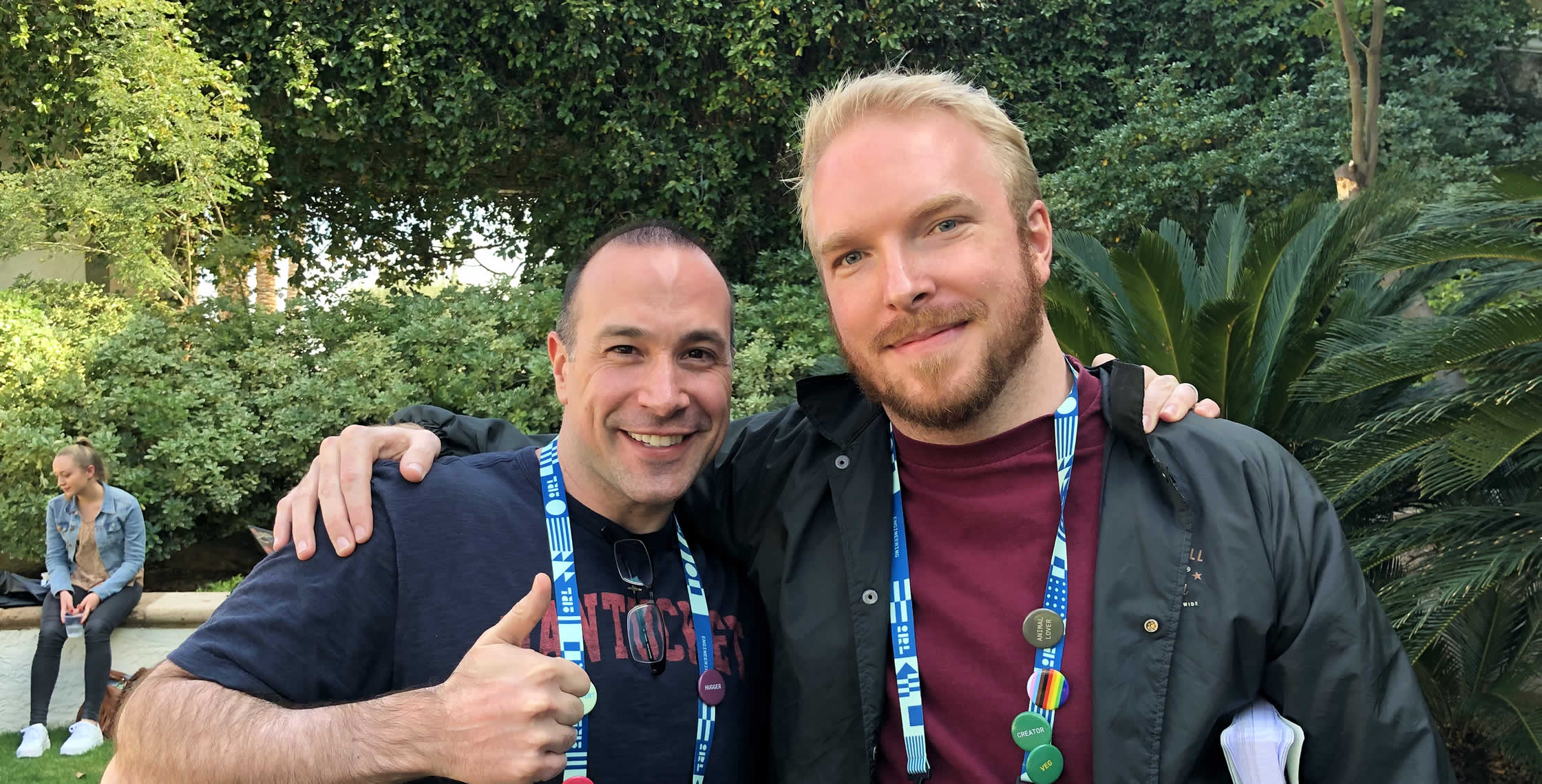Ben Nadel at InVision In Real Life (IRL) 2019 (Phoenix, AZ) with: Sean Roberts