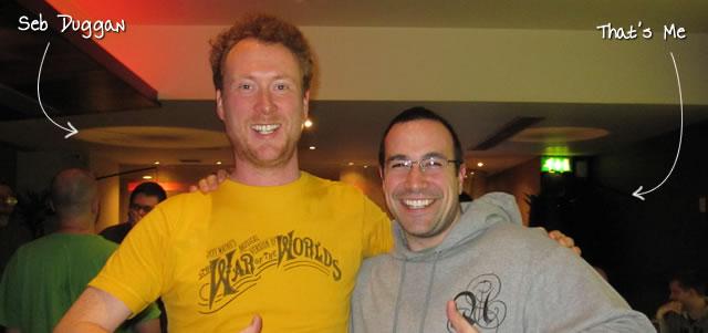 Ben Nadel at Scotch On The Rocks (SOTR) 2011 (Edinburgh) with: Seb Duggan