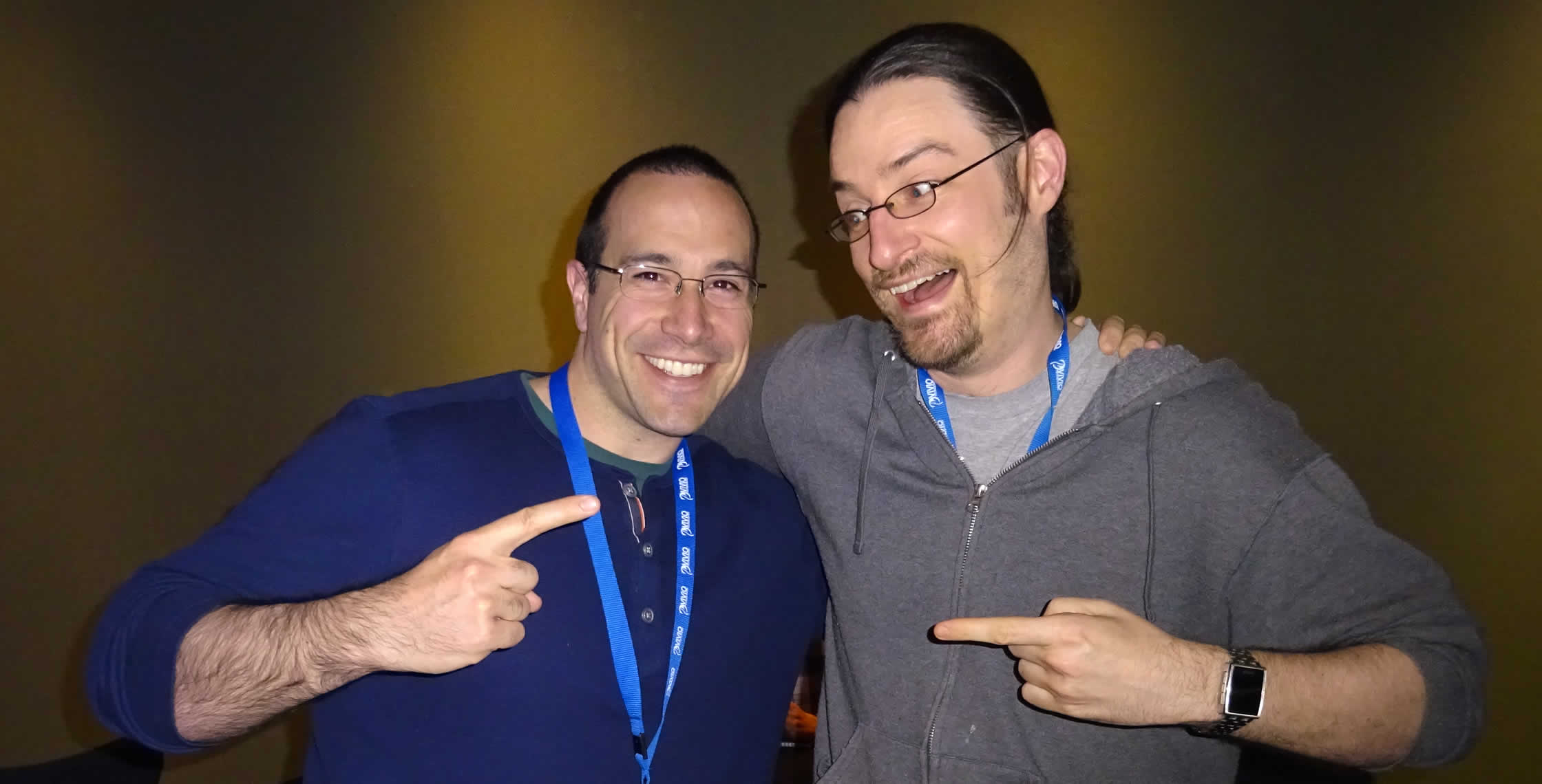 Ben Nadel at cf.Objective() 2014 (Bloomington, MN) with: Shawn Grigson
