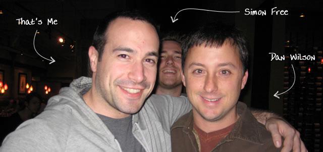 Ben Nadel at CFinNC 2009 (Raleigh, North Carolina) with: Simon Free and Dan Wilson