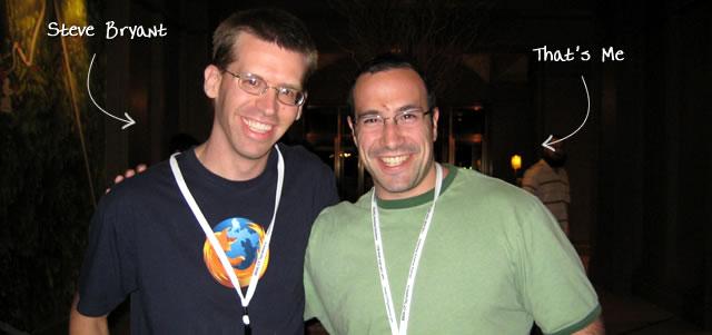 Ben Nadel at CFUNITED 2009 (Lansdowne, VA) with: Steve Bryant