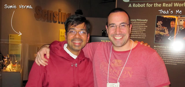 Ben Nadel at RIA Unleashed (Nov. 2010) with: Sumit Verma