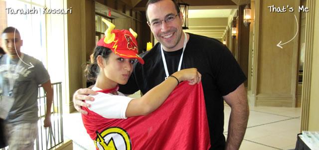Ben Nadel at CFUNITED 2010 (Landsdown, VA) with: Taraneh Kossari