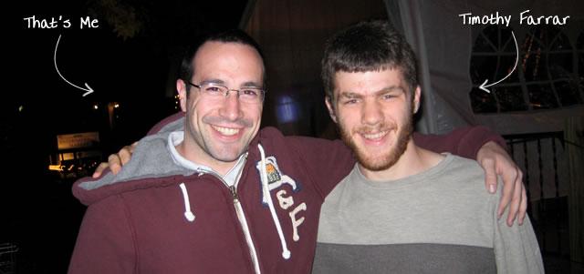 Ben Nadel at BFusion / BFLEX 2009 (Bloomington, Indiana) with: Timothy Farrar