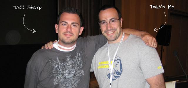 Ben Nadel at CFUNITED 2009 (Lansdowne, VA) with: Todd Sharp