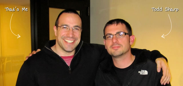 Ben Nadel at RIA Unleashed (Nov. 2010) with: Todd Sharp
