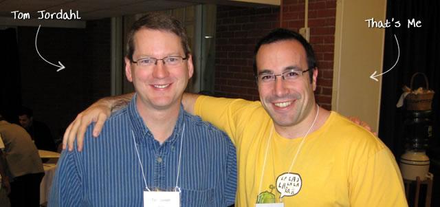 Ben Nadel at RIA Unleashed (Nov. 2009) with: Tom Jordahl