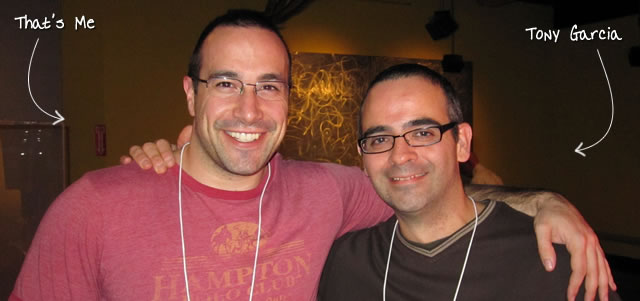 Ben Nadel at RIA Unleashed (Nov. 2010) with: Tony Garcia