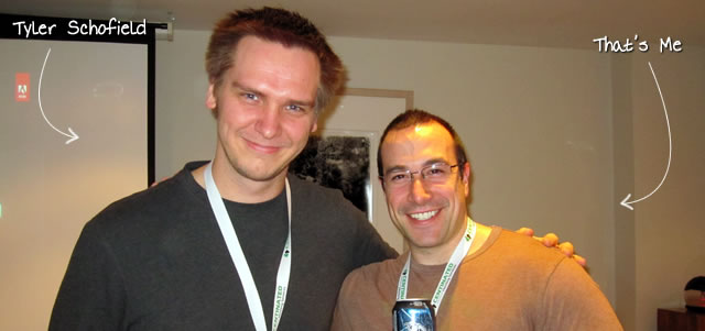Ben Nadel at Scotch On The Rocks (SOTR) 2011 (Edinburgh) with: Tyler Schofield