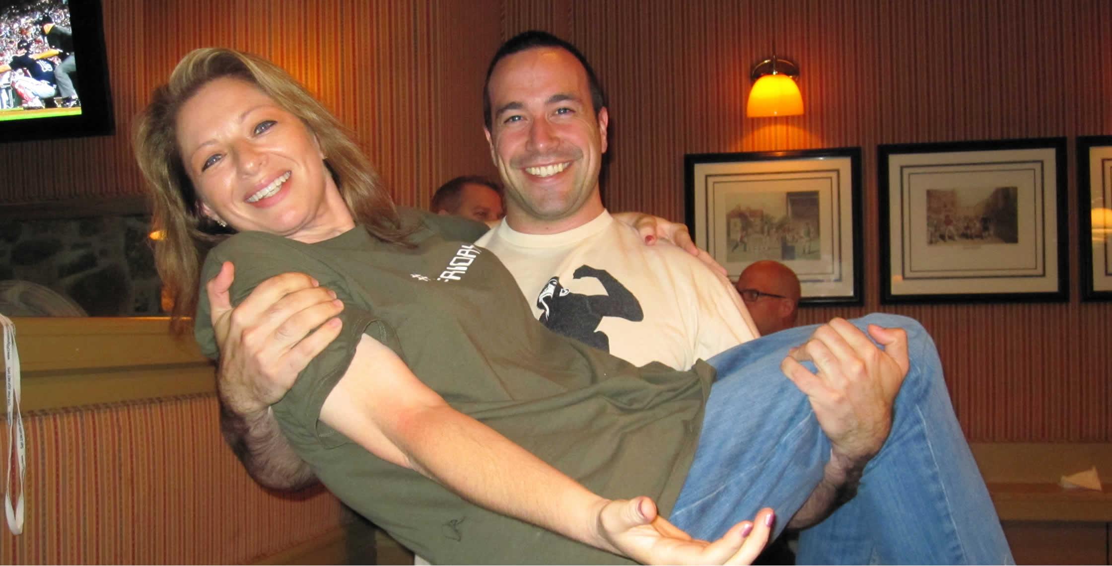 Ben Nadel at CFUNITED 2010 (Landsdown, VA) with: Vicky Ryder