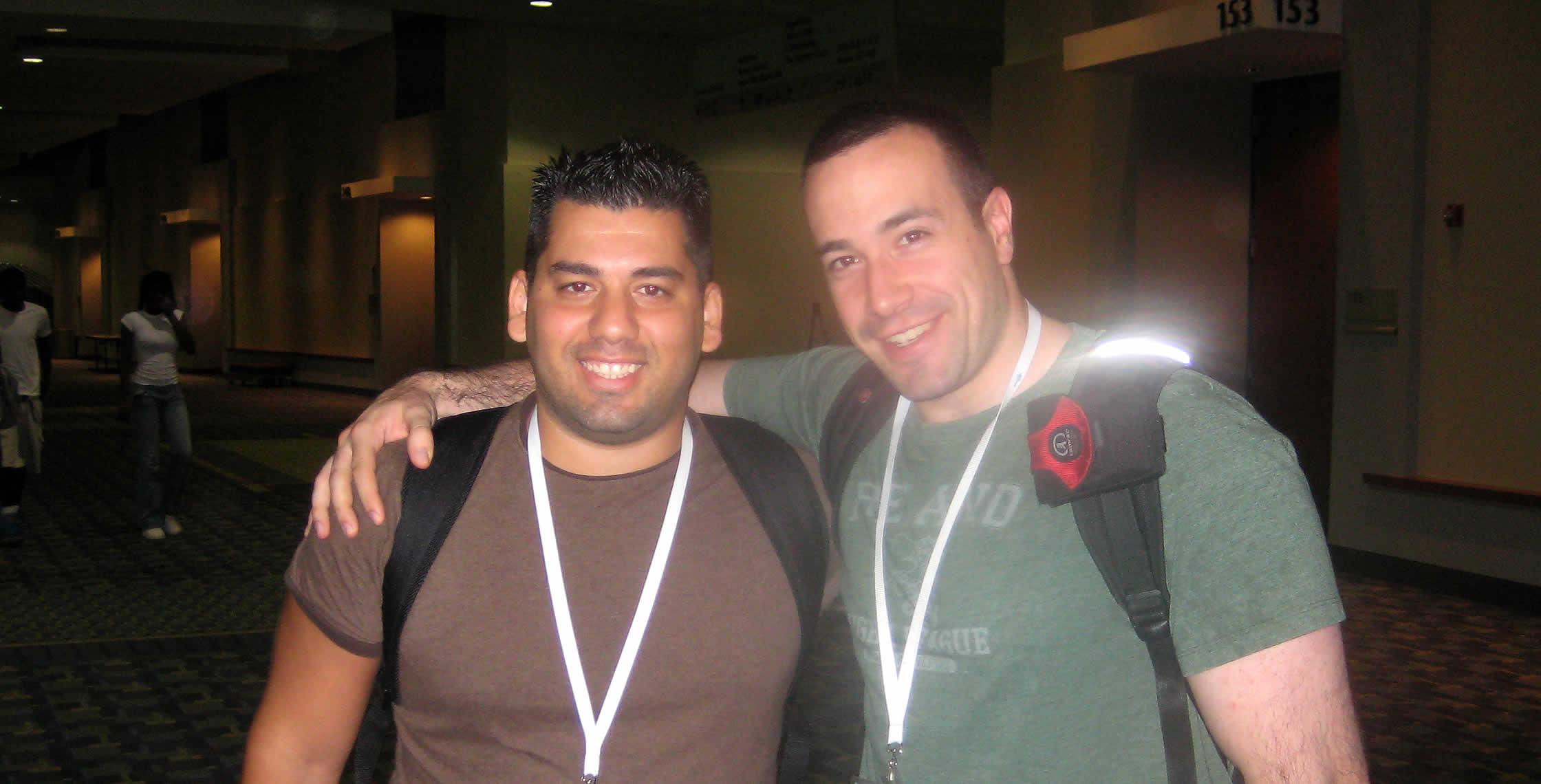 Ben Nadel at CFUNITED 2008 (Washington, D.C.) with: Yaron Kohn