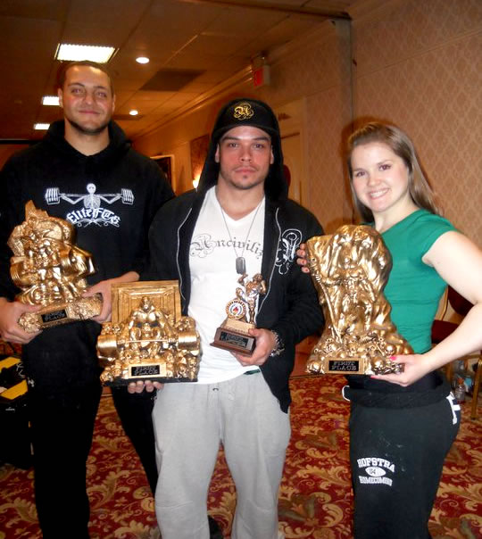 Troy Valberg, Mario Valero, And Victoria Viola All Place 1st At The IPA New Jersey State Powerlifting Championships!
