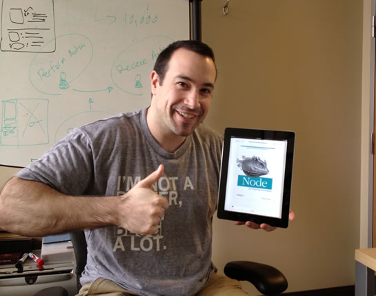 Node.js For Front-End Developers by Garann Means, book review by Ben Nadel.
