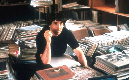 High Fidelity - sorting records.