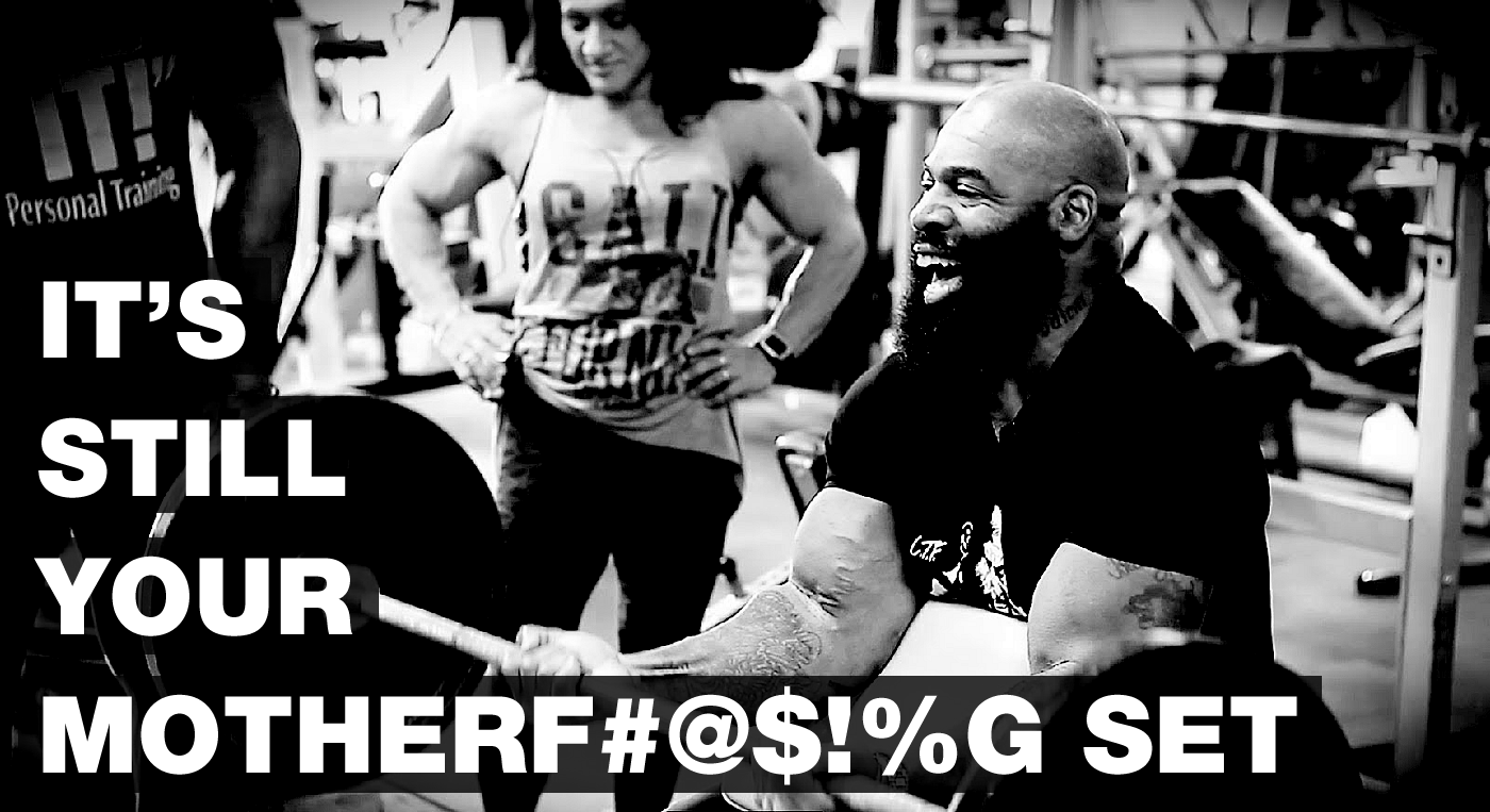 CT Fletcher - It's still your motherfucking set.