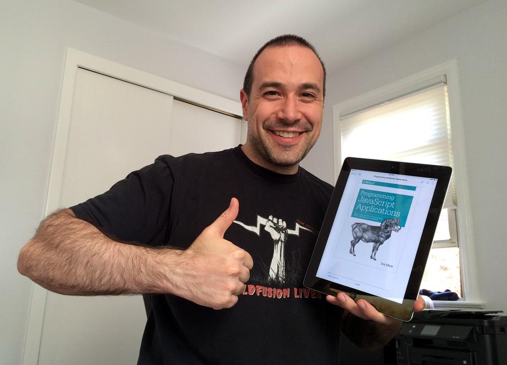 Programming JavaScript Applications by Eric Elliott reviewed by Ben Nadel.