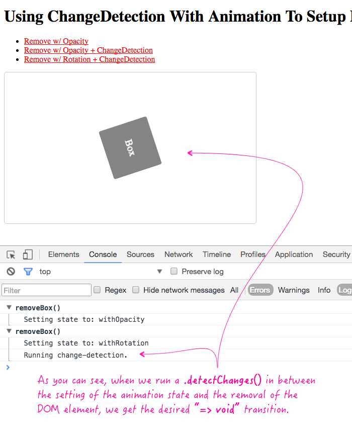 Using Changedetection With Animation To Setup Dynamic Void Transitions In Angular 2 Rc 6
