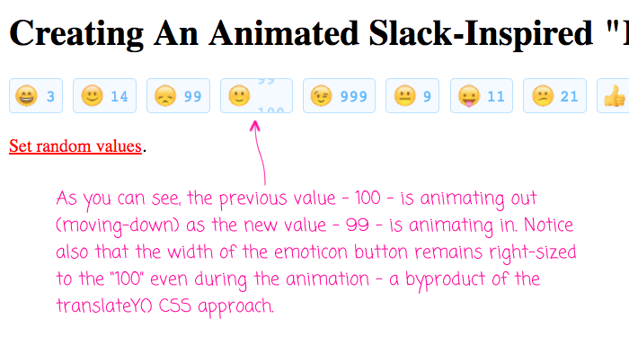 Slack inspired emoticon button in Angular 2.