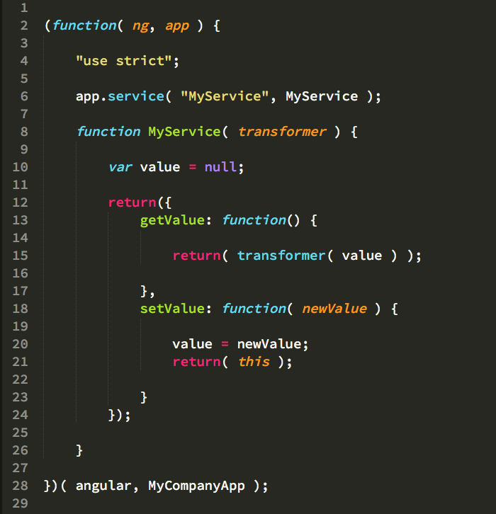 Framework code for Angular.js 1.x.