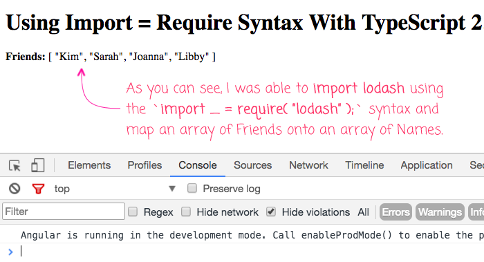Using the import equals require syntax in TypeScript 2.