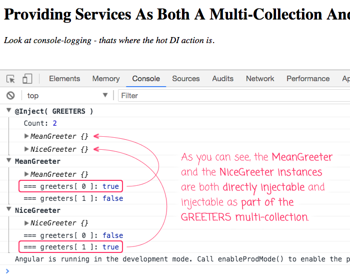 Providing a service as part of a collection using multi:true in your module configuration.