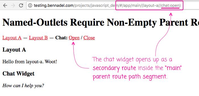 Secondary routes require a non-empty parent route path segment.