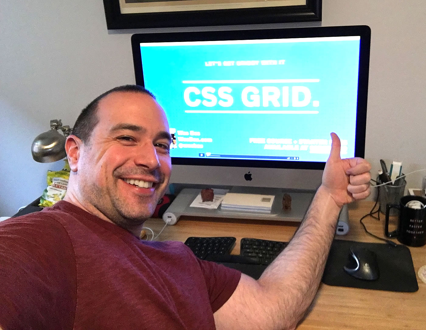 CSS Grid video course by Wes Bos, review by Ben Nadel.