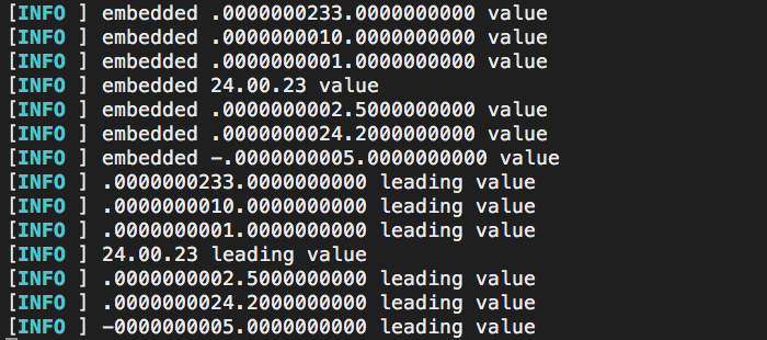 Normalizing embedded numbers so that an ASCII sort leads to a natural sort in Lucee 5.3.
