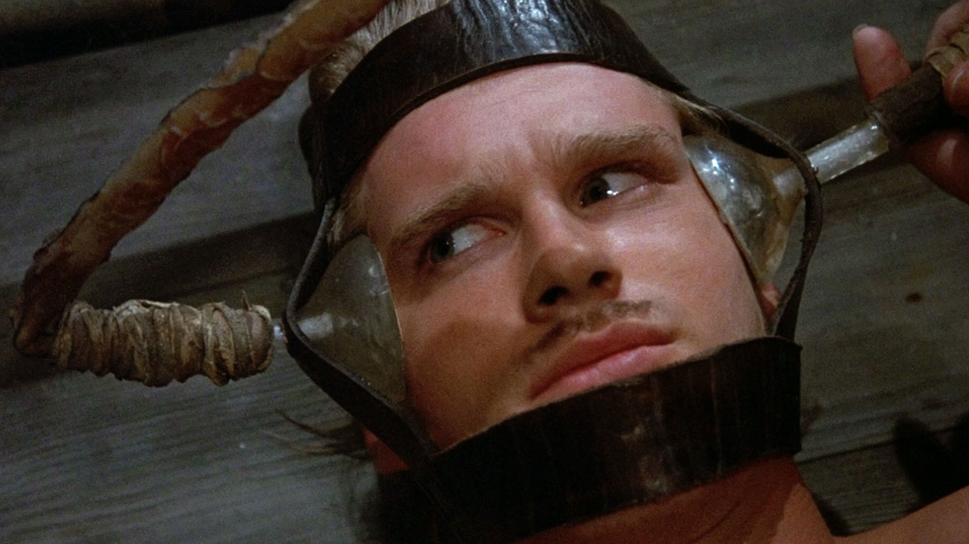 Westley in the Pit of Despair, as seen in the Princess Bride.