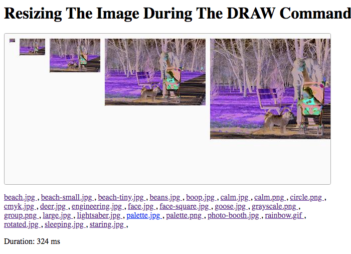 A CMYK image scaled as it is drawn onto a canvas shows up as inverted using GraphicsMagick and Lucee CFML.