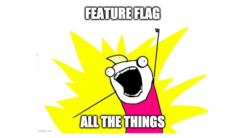 Slide 017 for presentation, Feature Flags Change Everything About Product Development