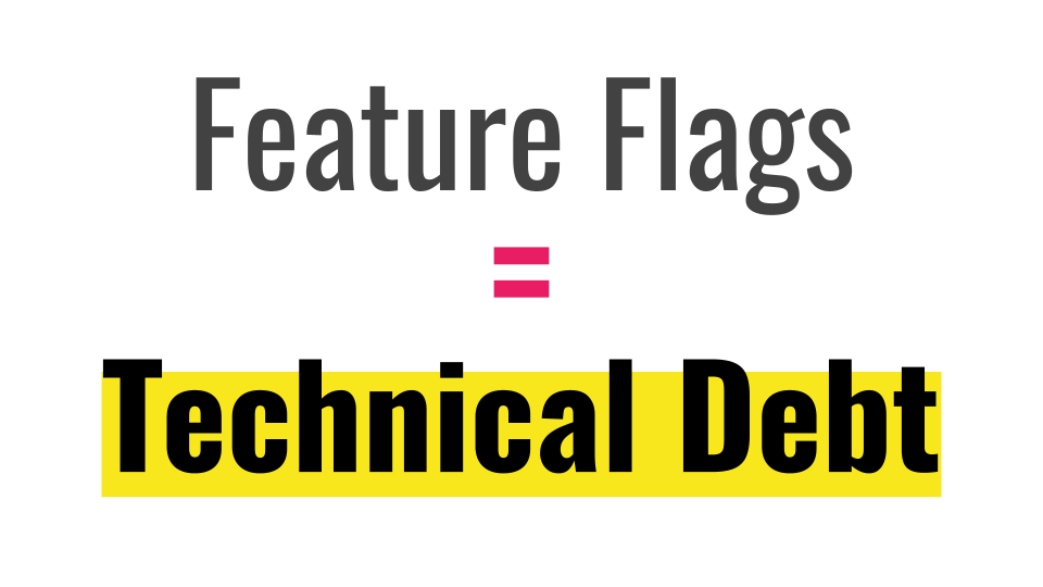 Slide 067 for presentation, Feature Flags Change Everything About Product Development