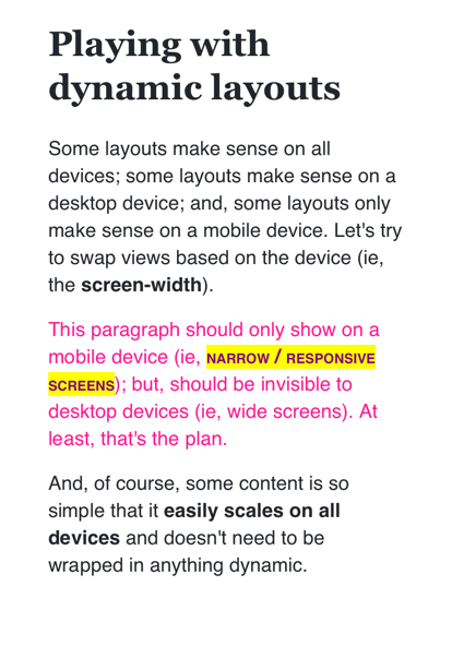 HTML email rendered in iPhone 11.